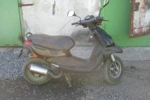 Черный Honda Dio 2001