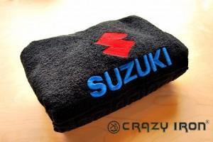 Полотенце с логотипом SUZUKI