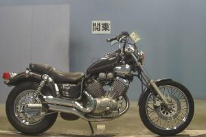 Серый Yamaha XV 400 Virago 1990