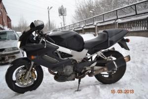 Черный Honda VTR 1000 FireStorm 1997, угнан 25 апреля 2013 в Ярославль