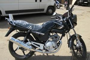 Черный Yamaha YBR 125 2013, угнан 19 мая 2014 в Санкт-Петербург