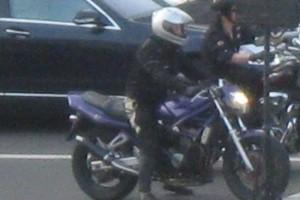Фиолетовый Suzuki GSF 400 Bandit 1996, угнан 4 июня 2014 в Санкт-Петербург