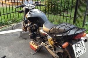 Черный Honda CB 400 SF Hyper Vtec 2003, угнан 29 сентября 2014 в Санкт-Петербург
