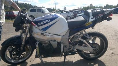 В угоне синий Suzuki GSX-R 1000 2001