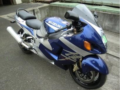 В угоне синий Suzuki GSX 1300 R Hayabusa 2003