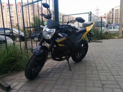 В угоне желтый Irbis GR 250 2014