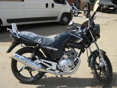 В угоне черный Yamaha YBR 125 2013