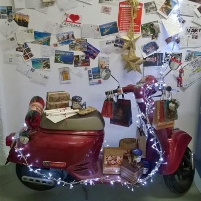 В угоне красный металлик Honda Giorno 2005