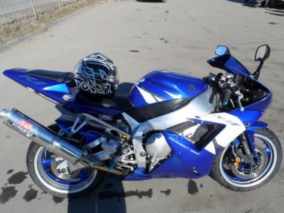 В угоне голубой Yamaha YZF-R1 2002
