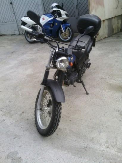 В угоне синий Yamaha TW 200 2000