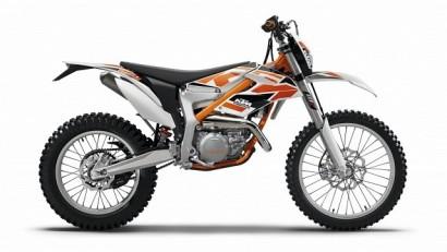 В угоне оранжевый KTM 250 Freeride R 2016