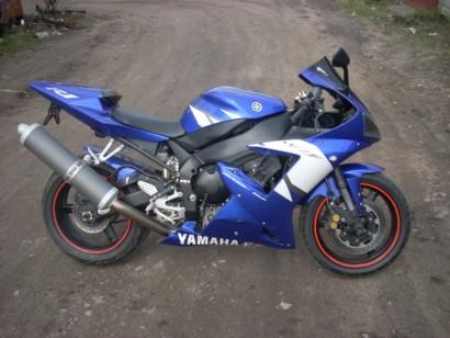 В угоне синий Yamaha YZF-R1 2002
