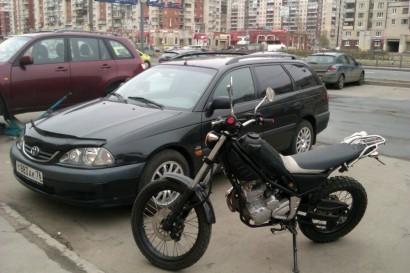 В угоне черный Yamaha XG 250 Tricker 2004