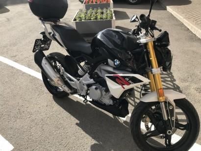 В угоне черный BMW G 310 R 2017