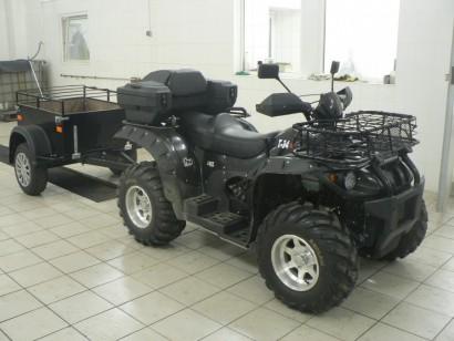 В угоне черный Stels ATV-500H SUN 2014