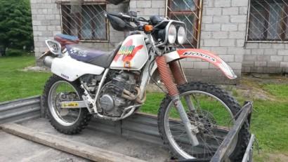 В угоне белый Honda XLR 250 1991